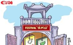 Festival Văn hóa truyền thống bán thuốc trị hôi nách!