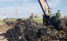 Từ điều tra của Tuổi Trẻ Online: Khởi tố vụ án chôn 4.300 tấn chất thải