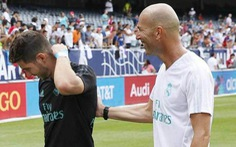 HLV Zidane bị tố 'lạm quyền' vì để con trai bắt chính trong khung gỗ Real Madrid