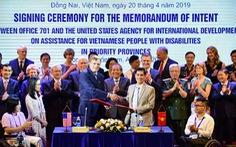 Mỹ cam kết hỗ trợ cải thiện cuộc sống người khuyết tật ở Việt Nam