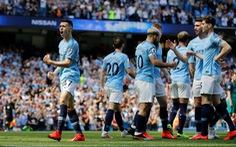 Đá bại Tottenham, 'Man xanh' trở lại đỉnh bảng
