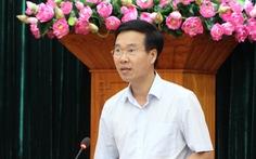 Ông Võ Văn Thưởng: Singapore như ngày nay nhờ kiên trì đánh roi người xả rác