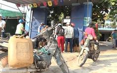 Lo cạn kiệt xăng dầu, dân đảo Lý Sơn nháo nhào mua dự trữ