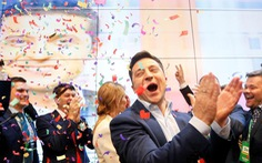 Nga, Mỹ nói gì khi diễn viên hài Zelenskiy đắc cử tổng thống Ukraine?