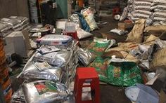 Phát hiện hơn 15 tấn phân bón nghi hàng giả