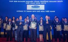Công ty bò sữa Việt Nam thuộc Vinamilk đạt Top Fast 500