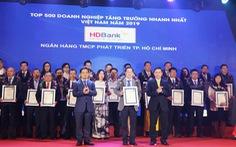 HDBank vào Top 5 ngân hàng có tốc độ tăng trưởng nhanh nhất