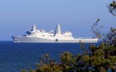 Nữ quân nhân tố tàu chiến Mỹ cài camera quay lén trong phòng tắm nữ