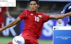 Video tuyển thủ Myanmar phẫn nộ khi bị 'chơi xấu' ở Thai League