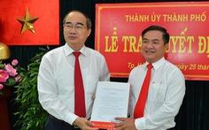 Ông Trần Trọng Tuấn làm bí thư quận 3