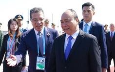 Thủ tướng đến Bắc Kinh, bắt đầu chuyến tham dự Diễn đàn 'Vành đai và Con đường'