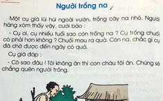 Chuyên gia ngôn ngữ: NXB Giáo dục nên sửa lỗi sai dấu câu trong sách giáo khoa