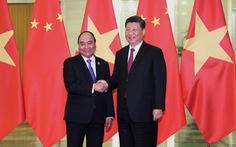 Thủ tướng Nguyễn Xuân Phúc hội kiến chủ tịch Tập Cận Bình: Đánh giá cao hợp tác giữa hai bên