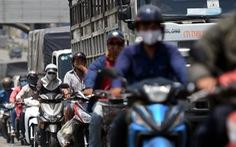 Kẹt xe liên tục dịp lễ đoạn từ TP.HCM qua Đồng Nai vì sửa chữa cầu