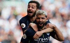 Aguero tỏa sáng, Manchester City tiếp tục dẫn trước Liverpool 1 điểm
