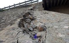 Mố cầu Hàm Rồng lại sụt lún, đe dọa an toàn đường sắt Bắc - Nam