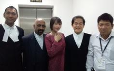Gia đình Đoàn Thị Hương vui mừng mong ngày con trở về