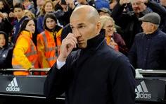 Real Madrid thua trận đầu tiên sau khi Zidane trở lại