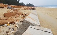 Kè biển Tam Quan 80 tỉ đổ sập chỉ 'rút kinh nghiệm' là 'chưa tương xứng'