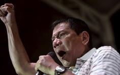 Ông Duterte: 'Tôi sẽ kêu lính tử thủ nếu Trung Quốc đụng tới Thị Tứ'