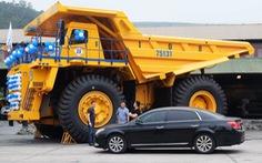 Thử nghiệm 4 xe 'siêu vận tải' 1,6 triệu USD/xe 'khủng' nhất Việt Nam
