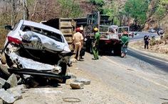 Tai nạn liên hoàn trên đèo Chư Sê, 3 người bị thương nặng