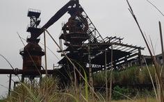 Nhà máy thép 1.000 tỉ đấu giá 100 tỉ phơi nắng mưa như vườn hoang