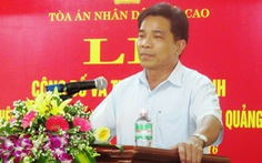 Ông Lê Văn Dũng làm phó bí thư Tỉnh ủy Quảng Nam