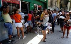 Cuba giảm trang báo vì thiếu giấy