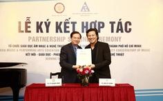 Nhạc viện TP.HCM có đối tác cùng phát triển 'trách nhiệm cộng đồng'