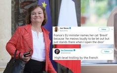Con mèo Brexit của bà Bộ trưởng Loiseau