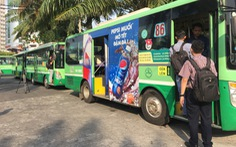 Từ 1-5, xe buýt TP.HCM tăng giá vé