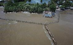 Hàng chục ngàn hộ dân vùng ĐBSCL mất nhà do sạt lở