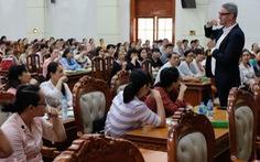 Giáo viên 26 tỉnh thành tập huấn sử dụng sách tham khảo