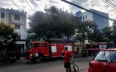 Cháy Văn phòng đăng ký đất đai lúc mờ sáng