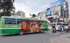 TP.HCM đấu giá cho thuê quảng cáo trên xe buýt sau 4 lần... thất bại