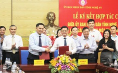 Saigontourist hợp tác chiến lược nhiều lĩnh vực với tỉnh Nghệ An