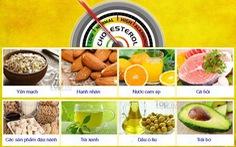 10 thực phẩm hàng đầu làm giảm cholesterol