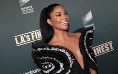 Gabrielle Union diện đồ Công Trí trong buổi ra mắt phim L.A.'s Finest