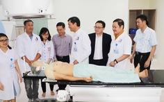 Bệnh viện đầu tiên ở Bắc Trung bộ có máy xạ trị điều trị ung thư