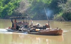 3 tỉnh cùng giám sát đặc biệt nạn 'cát tặc' trên sông Đồng Nai