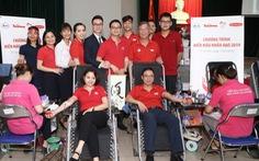 Hiến tặng thành công hơn 226 đơn vị máu tại Hà Nội