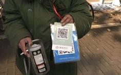 Cúng dường bằng ví điện tử, ăn xin nhận tiền qua QR Code