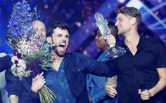Eurovision: Hà Lan chiến thắng, Madonna mang cờ Palestine và Israel lên sân khấu