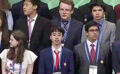 Một học sinh Việt Nam đoạt giải ba Hội thi khoa học kỹ thuật quốc tế