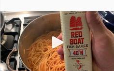 Xôn xao khi đầu bếp Michelin nấu mì Ý với nước mắm thay phô mai