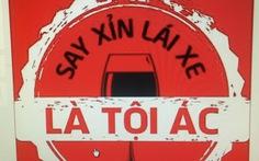 Dân mạng đổi avatar, coi ''say xỉn lái xe là tội ác'