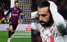 Cộng đồng mạng tung hô Messi, 'dìm hàng' Salah