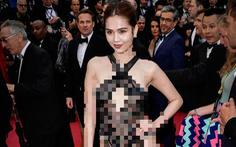 Bộ Văn hóa nói gì về chuyện 'Ngọc Trinh mặc phản cảm ở Cannes'?