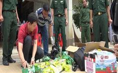 10 ngày bắt giữ gần 70kg ma túy từ Campuchia qua